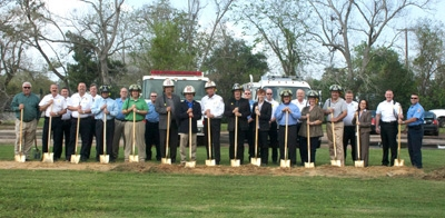 La Porte Fire Station #1 Groundbreaking