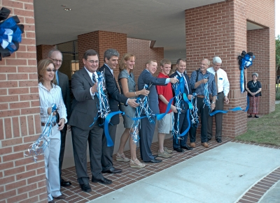 HCHS Student Center Ribbon Cutting